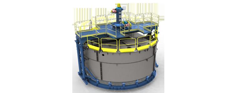 Сгуститель радиальный  СЦ-6АТ