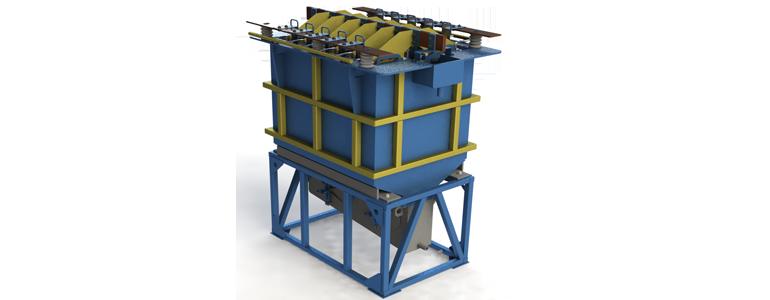 Электролизёр с корпусом из полипропилена ЭТС-10ПП