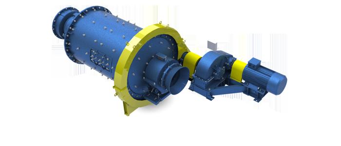 Мельница шаровая с центральной разгрузкой МШЦ – 2,1×3